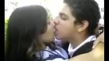 Desi school girl kissing and dating his boyfriend