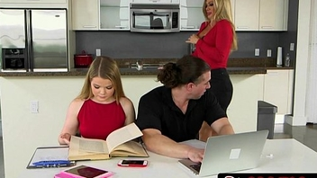 Sneaky MILF Nina Dolce Makes a Move mainly her Stepdaughter'_s Boyfriend
