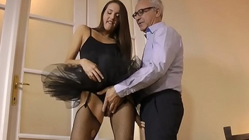 European tutu amateur fucked by oldman