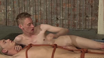 Ashton Bradley gives Kris Blent a kinky handjob hypnotic