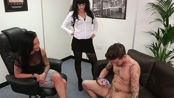 Fetish cfnm mistress cum