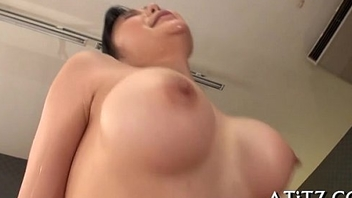 Breasty japanese'_s explicit 3some
