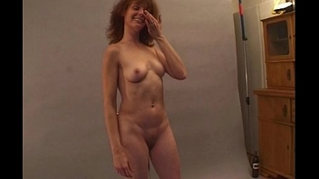 Sexy Photoshoot Relative to MILF Brunette Ends Up Fucked