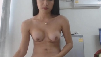 Hot Transsexual Masturbation above Cam