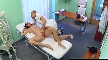 Amateur babe fucks doctor before nurse action