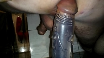 Gay solo dildo ass fuck