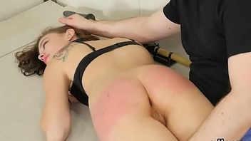 Nasty sweetie was taken in ass hole assylum for bitter therapy