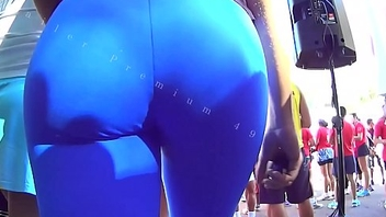 Candid Big Booty Bubble Butt Culo Brazil Thick Curvy Pawg BBW Ass Premium 49m