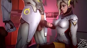Overwatch - Mercy gif Collection 1