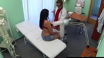 Busty patient pussyfucked by will not hear of debase